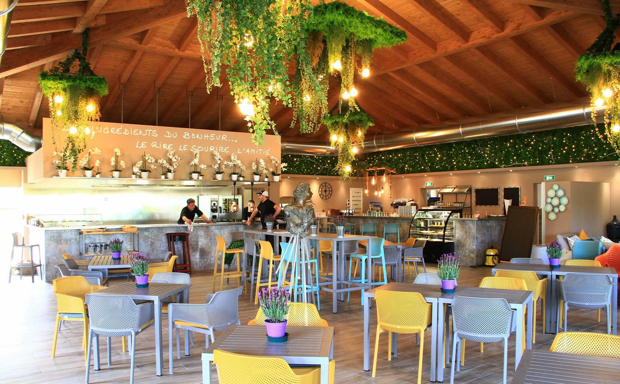 restaurant - golf de la vanade