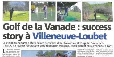 Article Presse du 6 Janvier 2020