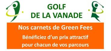 Nos Carnets Green Fees | Promo Parcours