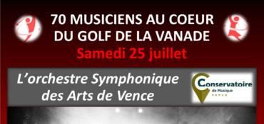 Soirée avec l'Orchestre Symphonique de Vence