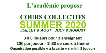 Découvrez nos cours collectifs de l'été !