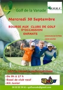 Bourse aux clubs de golf1