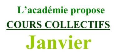 Cours Collectifs de Janvier 2021