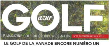 Article Golf Azur Nice Matin