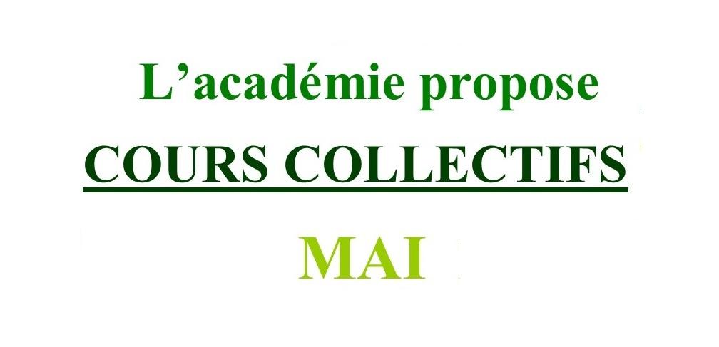 Cours Collectifs de Mai 2021